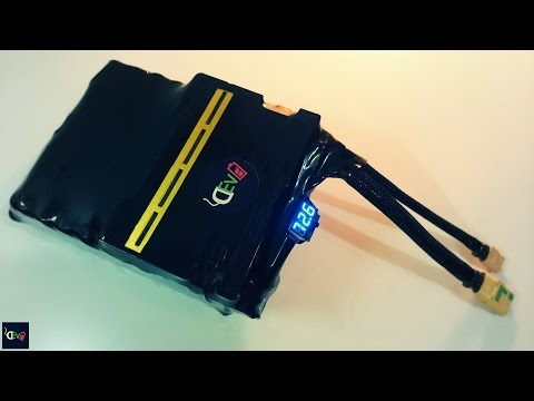 72V 12.5Ah high power Li-ion battery designed for LMX bike frame