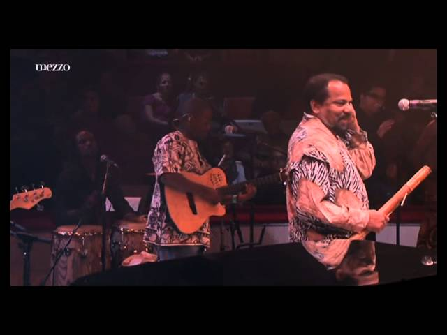 Bonga Mulemba Xangola ''Hommage a Cesaria Evora''   Festival d'Ile de France 2012