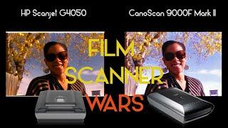 Film Scanner Wars HP Scanjet G4050 vs Canon CanoScan 9000F Mark II