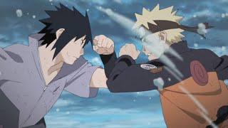 Наруто против Саске последняя битва! (NSUNS4)