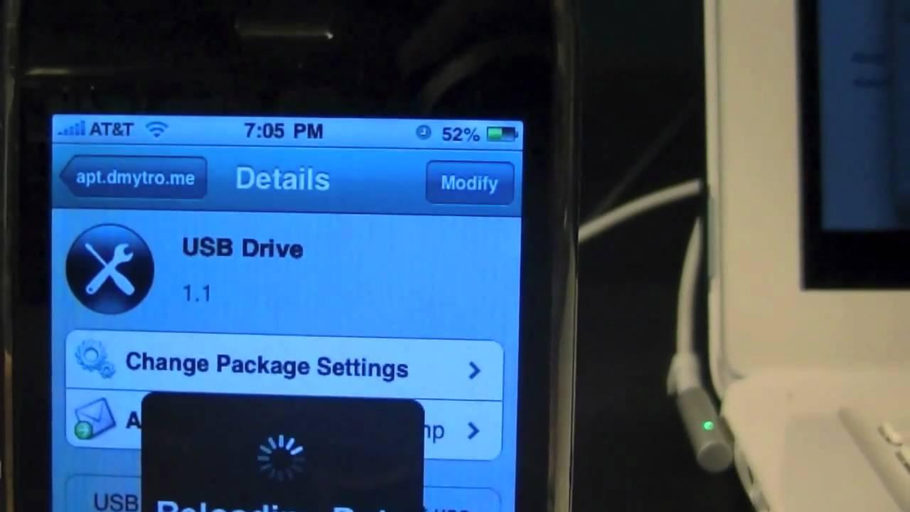 Enable USB Mode on iPhone