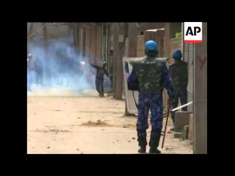 Clashes continue in