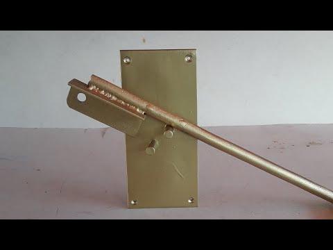 Homemade A Metal Bender! The Simplest Metal Bender! DIY tool