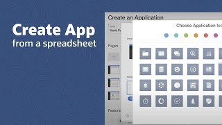 Creating an Application from a Spreadsheet Using Oracle Application Express video thumbnail