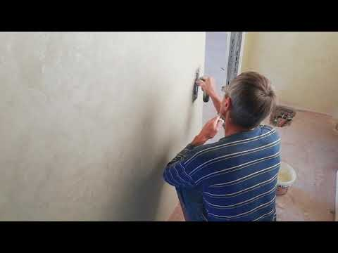 Перламутровая блестящая декоративная краска как украшение ваших стен!