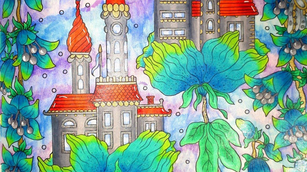 Tuto Coloriage Fond Aux Crayons De Couleurs Aquarellables