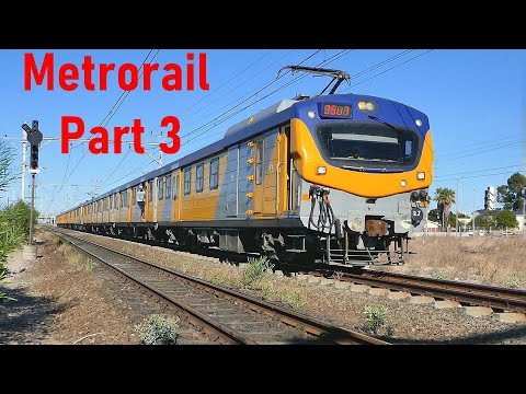 METRORAIL Cape Town 2016-2020 Compilation Part 3 Metro Trains Video clips | Train South Africa