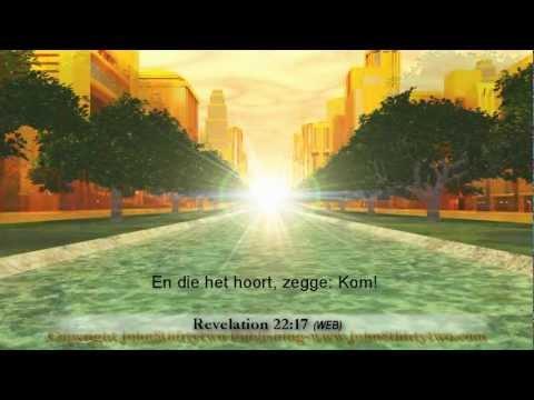 Nieuwe Jeruzalem, Openbaring 21, 22, Nederlands, Dutch Subtitles, Heilige Stad, Visie
