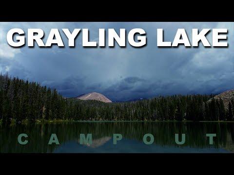 Grayling Lake - High Uintas Wilderness, Utah
