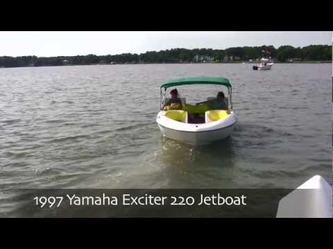 1997 Yamaha Exciter 220 Jetboat (June 8, 2012)