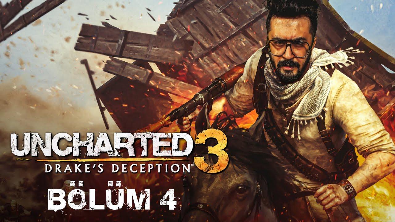 GEMİ MEZARLIĞI!   Uncharted 3: Drake's Deception Remastered Türkçe Bölüm 4