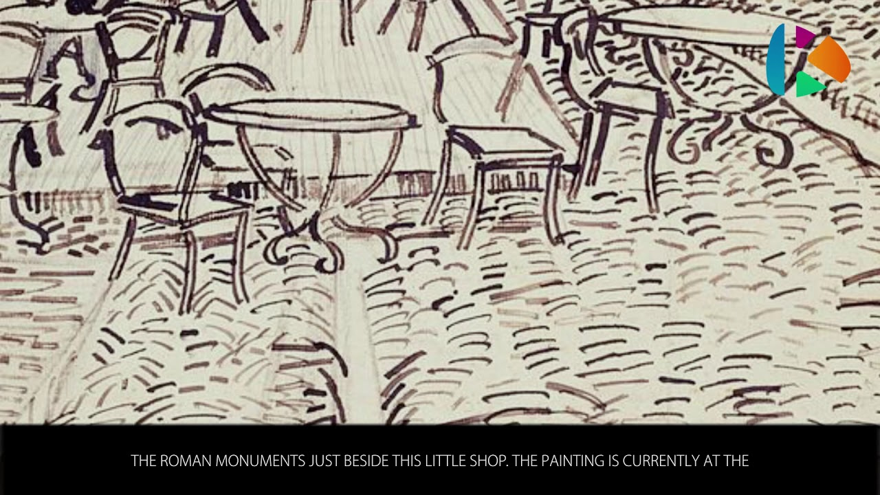 Famous Paintings Café Terrace At Night Wiki Videos By Kinedio