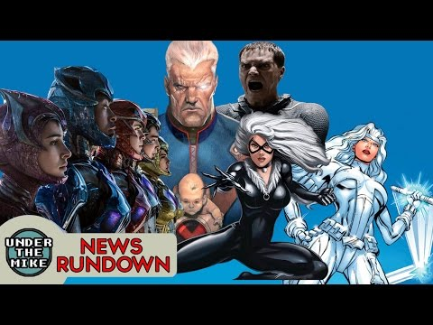 Black Cat and Silver Sable movie planned, More Power Rangers movies - FANDOM FUEL NEWS EP10