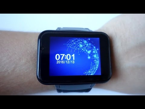 Domino DM98 3G Smartwatch with a huge 2.2