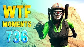 PUBG WTF Funny Daily Moments Highlights Ep 736