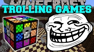 Minecraft: HORRIBLE TROLLING GAMES - Lucky Block Mod - Modded Mini-Game