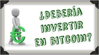 ¿Debería invertir en Bitcoin, Forex u otros activos concretos?