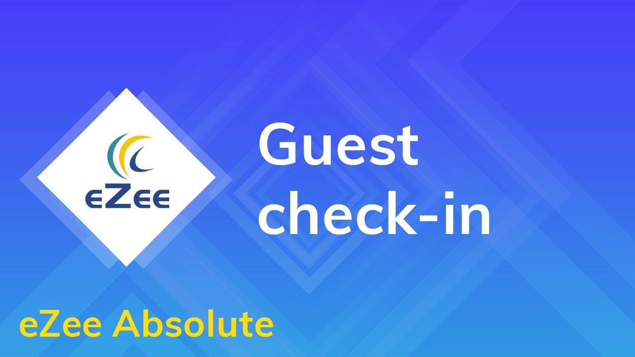 Video Tutorials for web based hotel pms - eZee Absolute