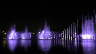 Pertunjukan air pancut tarikan terbaru di ibu kota