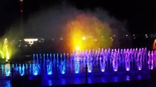 Сочи парк. 2016. Поющий фонтан. Шоу. Мега круто. Олимпийский.