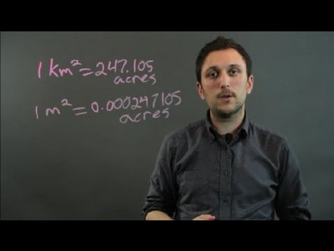 How To Convert Kilometers Meters To Acres Geometry Alge More