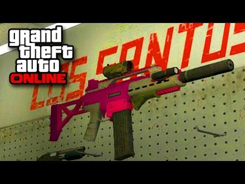 GTA Online - New Guns! Special Carbine & Heavy Pistol (Business DLC Grand Theft Auto Multiplayer)