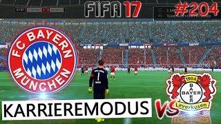 FC Bayern vs Bayer Leverkusen (Fifa 17 Karrieremodus #204) -Deutsch-