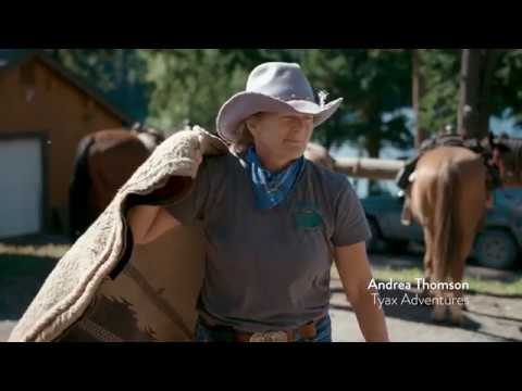 Wrangling in BC's South Chilcotin Mountains