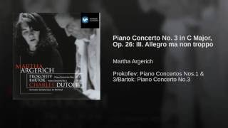 Piano Concerto No. 3 in C, Op.26: III. Allegro ma non troppo - meno mosso - Allegro
