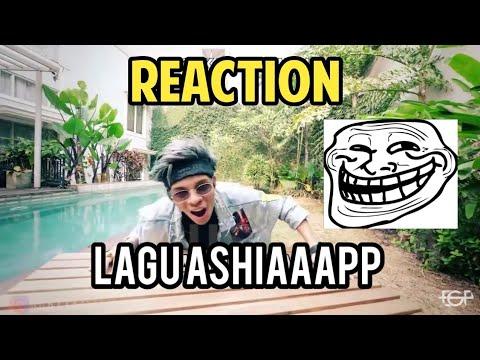[REACTION] Lagu Ashiaaap Atta Halilintar Cipt.Eka Gustiwana