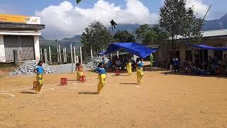 trò chơi nhảy bao bố hội trại 26-3 năm học 2016 - 2017 trường PTDT BT THCS Trà Nham