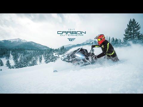 FLY Carbon Backcountry Mountain Technical Snowmobile Outerwear