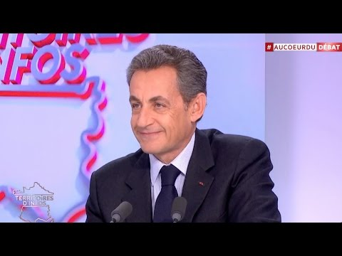 REPLAY. Nicolas Sarkozy dans Territoires d'infos