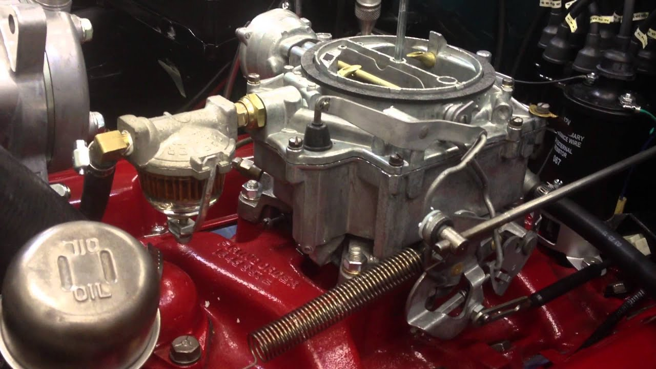 1956 Chevrolet 265 V8 Testing Youtube