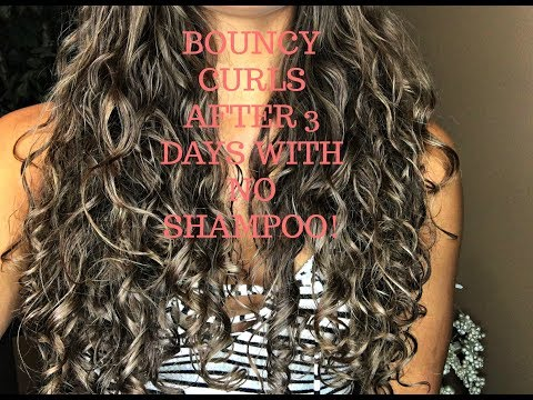BOUNCY CURLS OVERNIGHT | NO HEAT CURLY HAIR TUTORIAL WITH NO SHAMPOO | Mariah Michelle