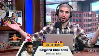 Gegard Mousasi Explains Why He Left UFC for Bellator