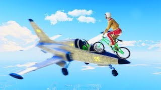 MISSION IMPOSSIBLE: LANDING ON JETS! (GTA 5 Funny Moments)