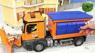 Escavadora, Trator, Carrinho de bombeiros , Caminhões de lixo e carros Excavator Toys