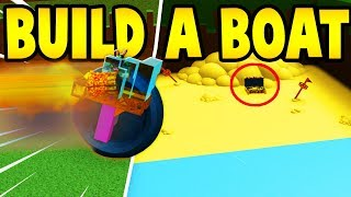 CRAZY Glitch To End! Build A boat For Treasure | Roblox