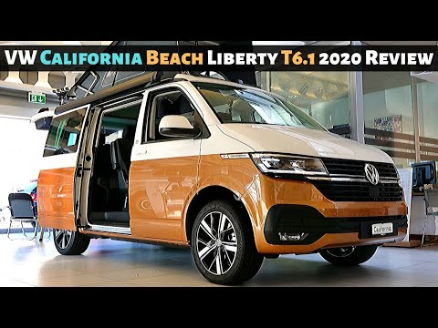 New VW California Beach Liberty T6.1 2020 Review Interior Exterior