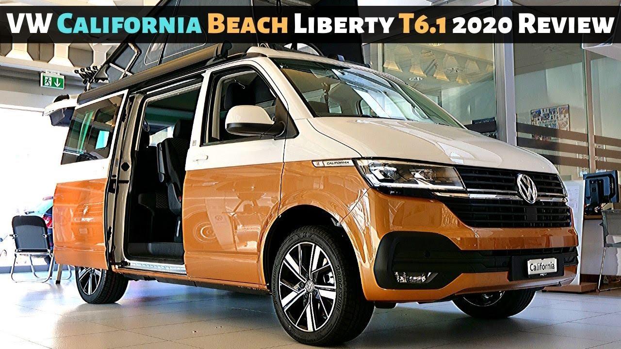 New Vw California Beach Liberty T6 1 2020 Review Interior Exterior Youtube