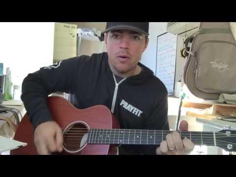 Kill A Word | Eric Church | Beginner Guitar Lesson