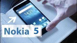 Анбоксинг Nokia 5 и первые впечатления // Стоит ли брать в 2017 году? 📱