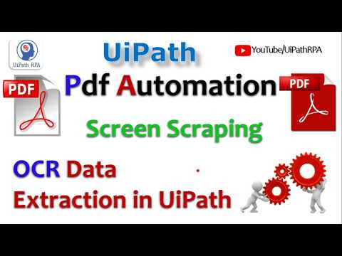 Automate Web Data Extraction - UiPath Studio by EasyWay2Learn