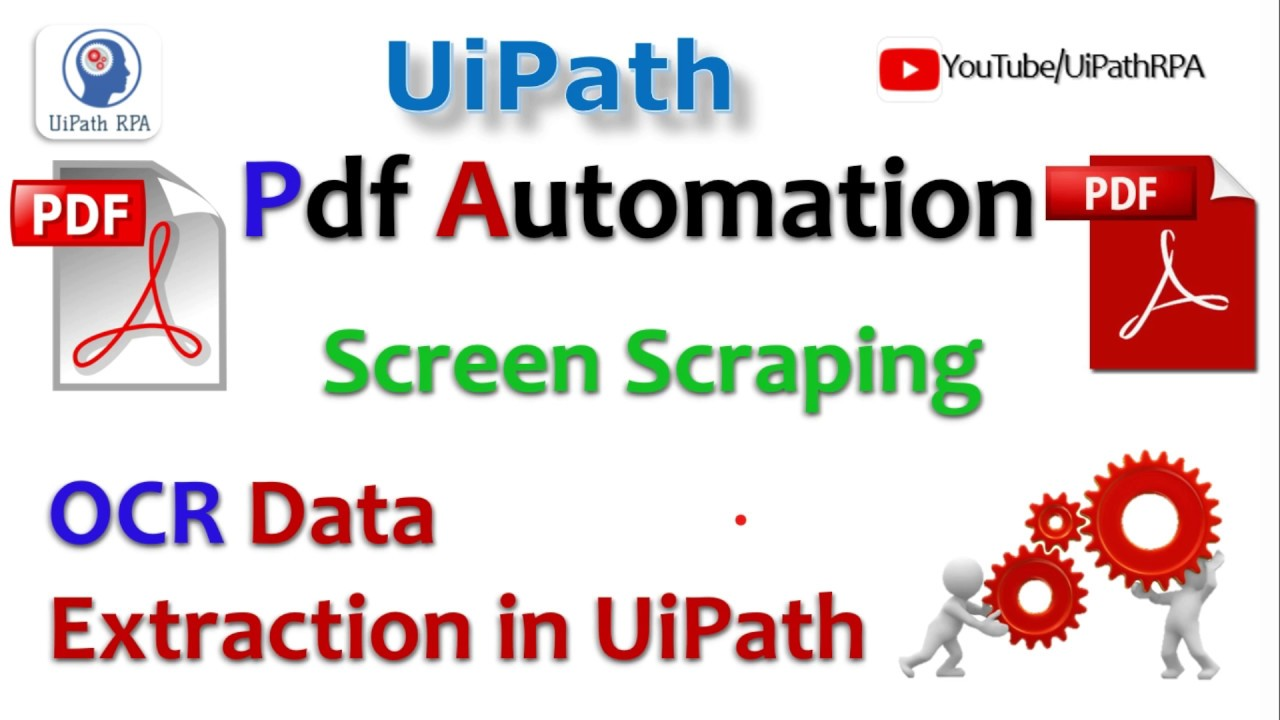 UiPath PDF Data Extraction and Automation|UiPath RPA Tutorial