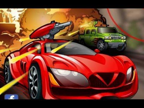 Spy Car Flash Game, Игры для мальчиков, гонки с оружием