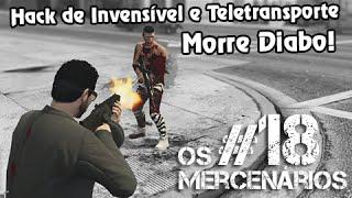 GTA V PS4 Online: Mercenários #18 - O Hack de Invencível e Teletransporte