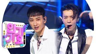 SUPER JUNIOR-D & E (Super Junior-D & E) - Danger (Harkie) @ Popular song Inkigayo 20190421