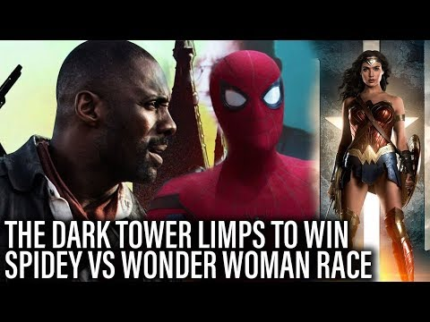 Dark Tower Limps To Box Office Win - Spidey Vs Wonder Woman Race