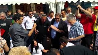 Le consulat turc attaque des militants du Nor Seround pendant un sit-in pacifique